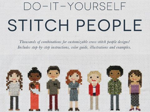 Do It Yourself Stitch People 1st Edition Cross Stitch Family