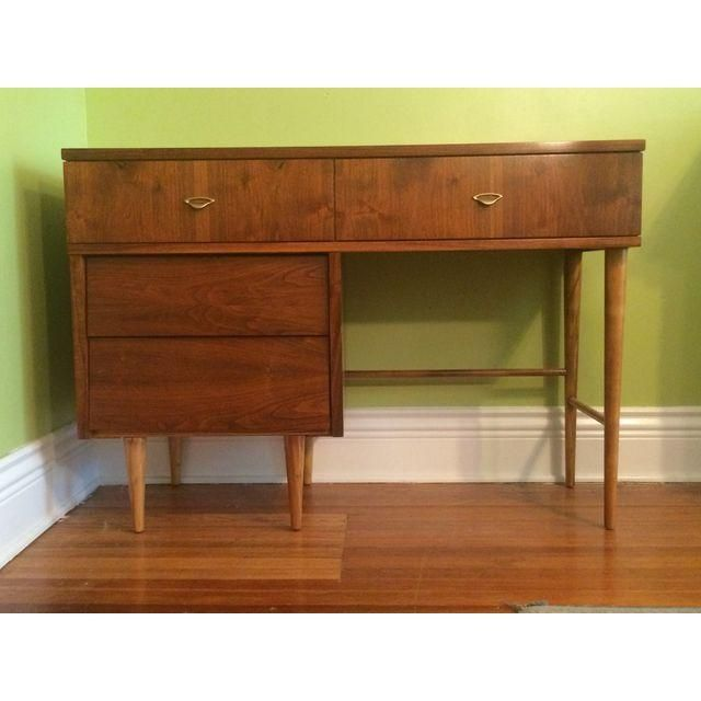 Harmony House Mid-Century Desk & Chair | Mid century desk, Mid ...