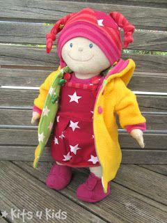 Photo of Puppengewand, Puppenpullover 2.0 von Firlefanz