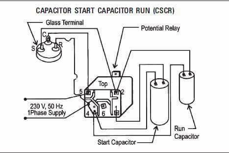 Ac Relay Wairig Refrigeration And Air Conditioning Hvac Air Conditioning Air Conditioner Condenser