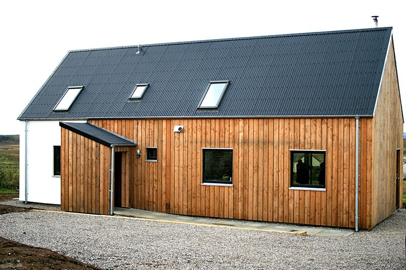Cromartie Timber Sawmill Flooring Construction Responsibly Sourced Scottish Wood Achterneed House Cladding Exterior Cladding Wood Cladding