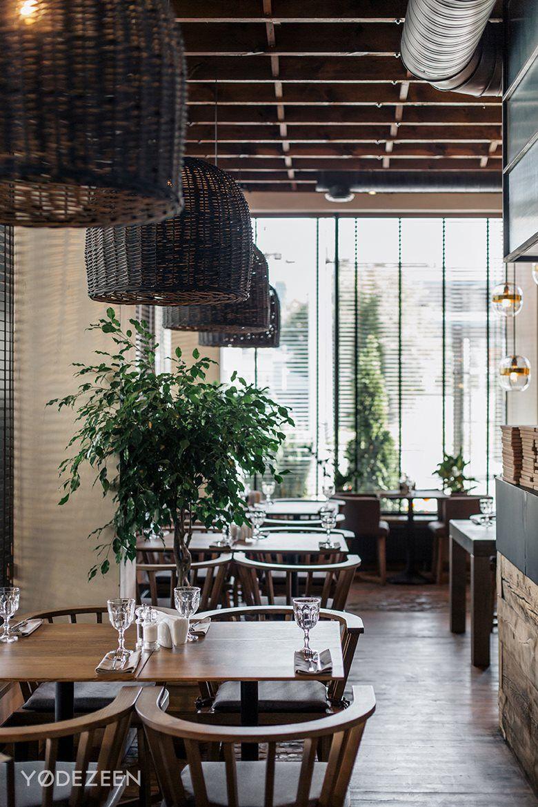 Italian Restaurant Semifreddo Yodezeen Architects Italian