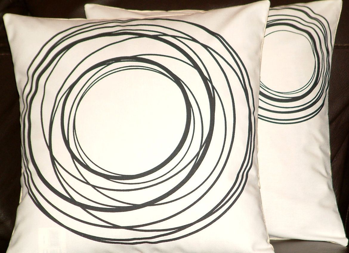 Circle cushion soft furnishings pinterest modern contemporary