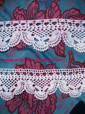Crochet Border Pattern Crochet Free Patterns On Tumblr