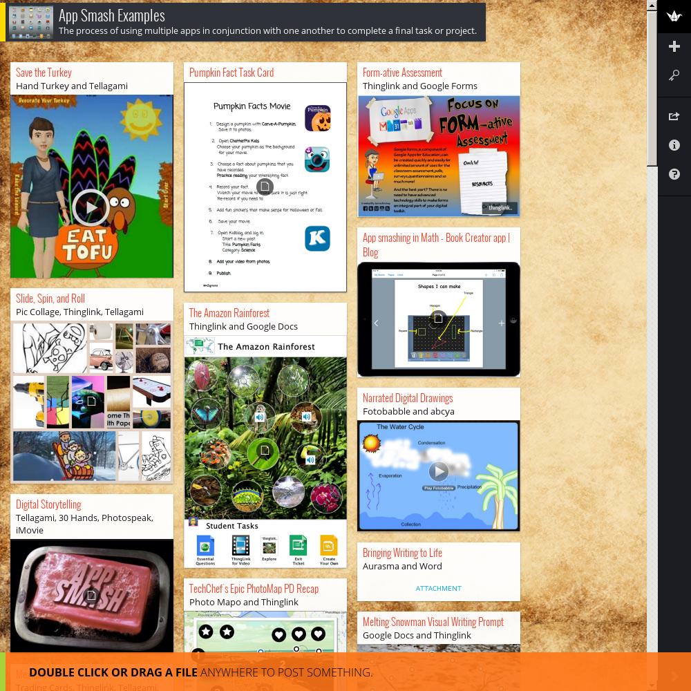 App Smash Examples Padlet Book Creator Pumpkin Facts App
