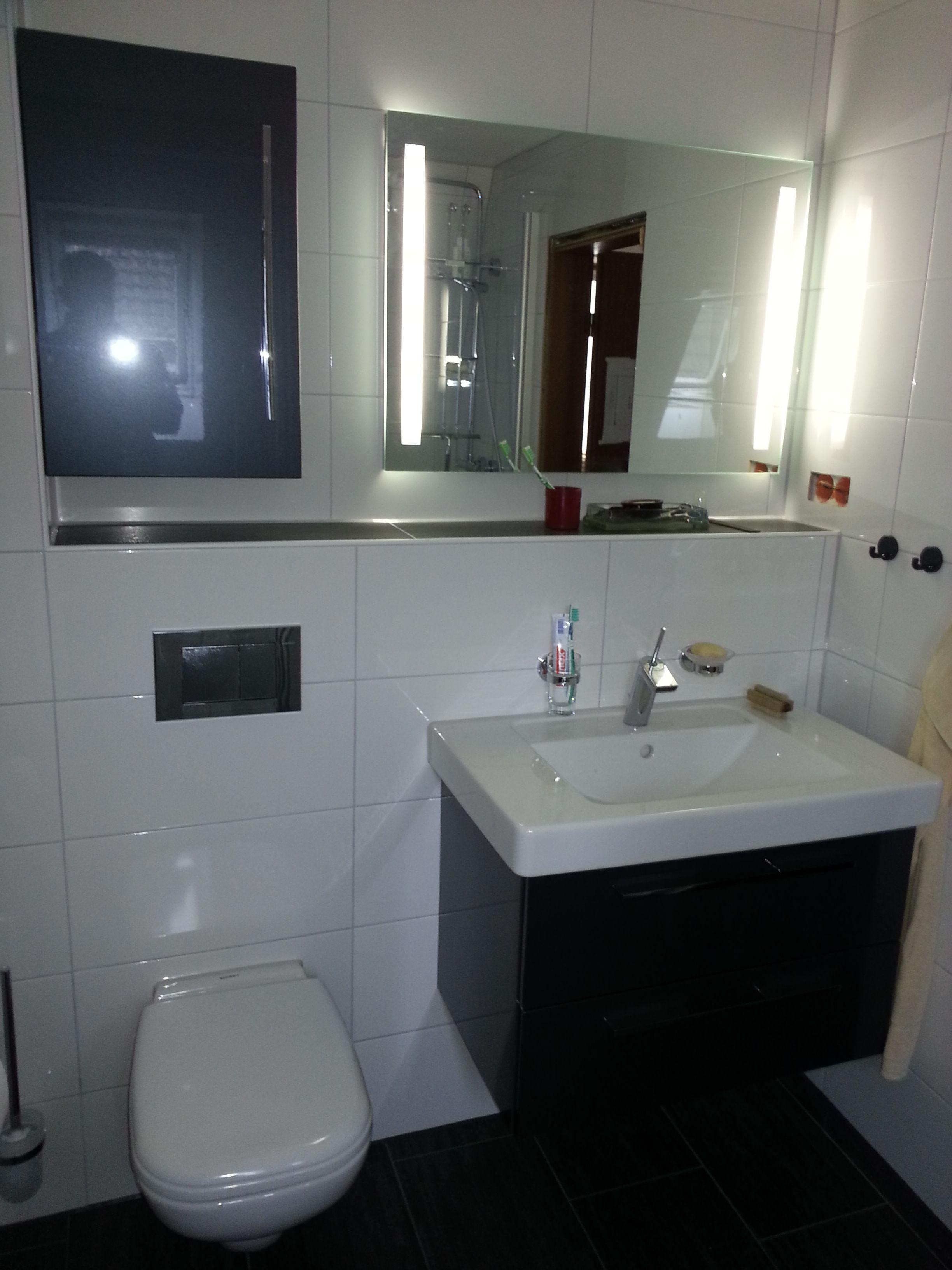 badezimmer anthrazit weiß – topby, Haus Raumgestaltung