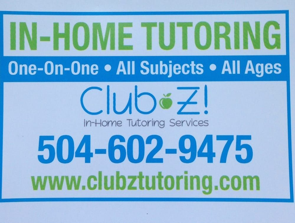 Call 504 4759450 for free private tutoring session