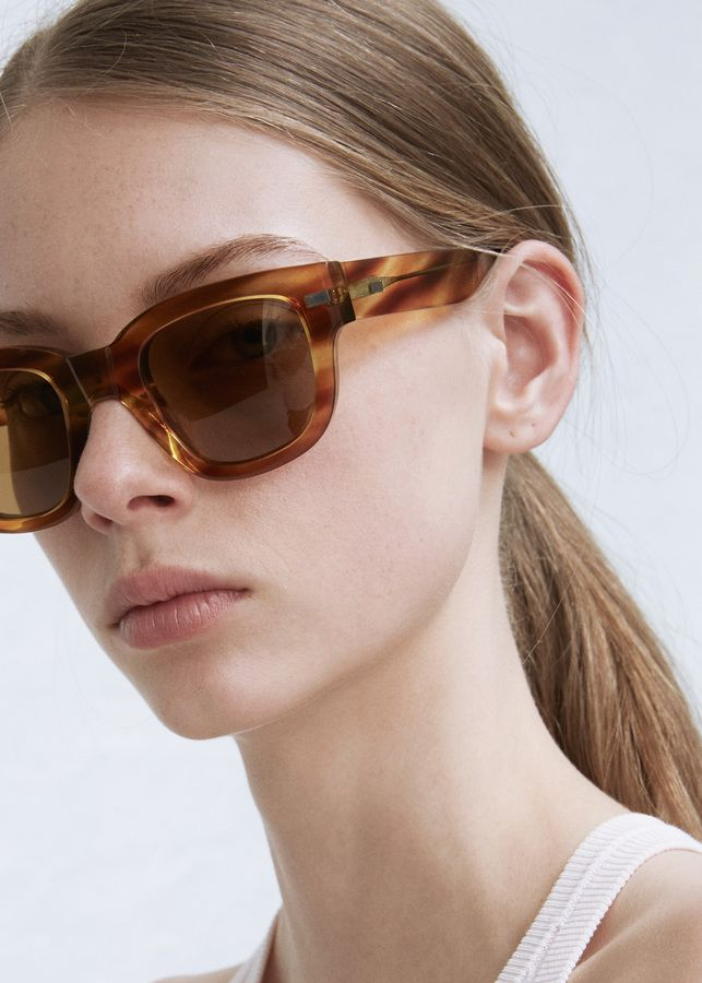 0d84558f9d6 Acne Studios light turtle frame metal. An amazing pair of frames I found