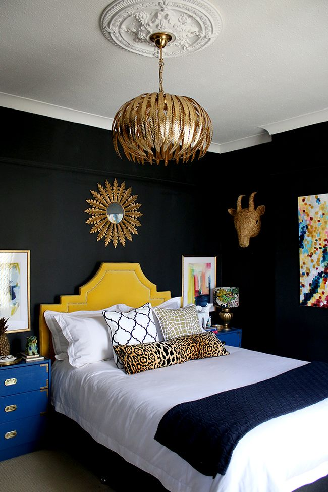 Best My New Gold Glam Light Fixture In The Bedroom Home Decor 400 x 300
