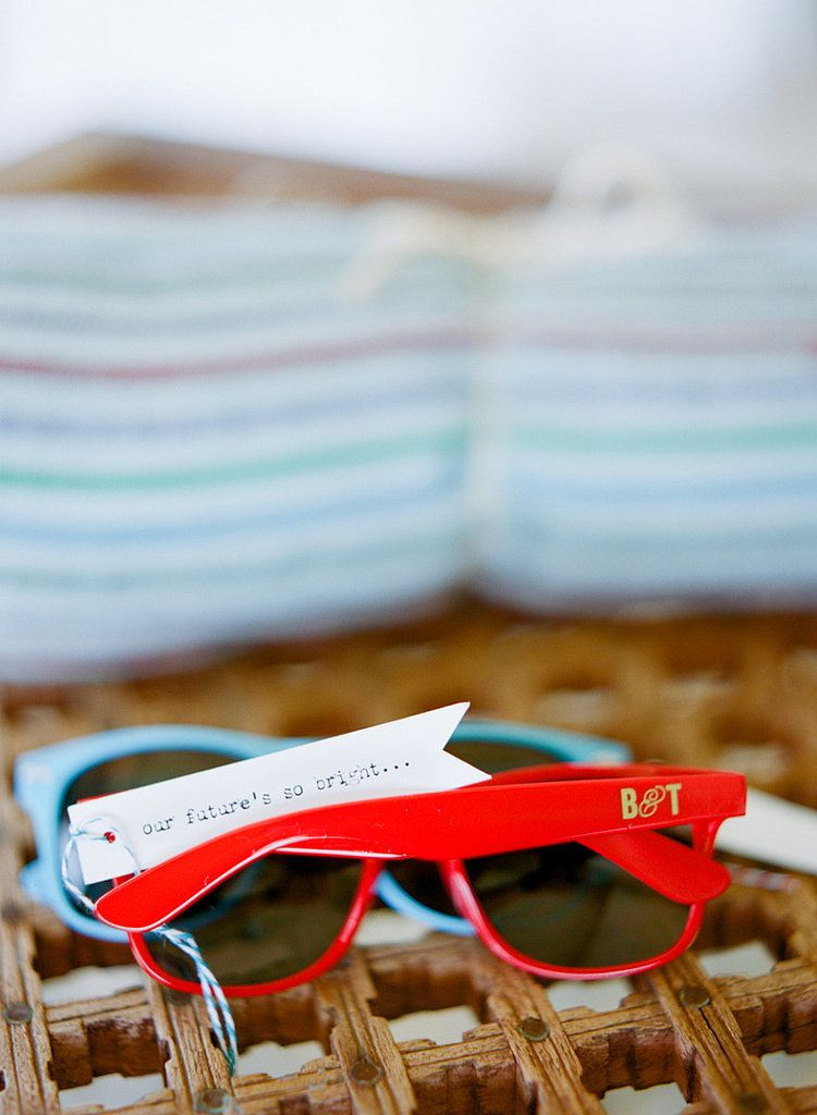 Perfect For Summer Weddings Sunglasses Are A Cheap And Fun Favor Check Out These
