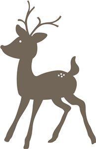 reindeer silhouette - Google Search