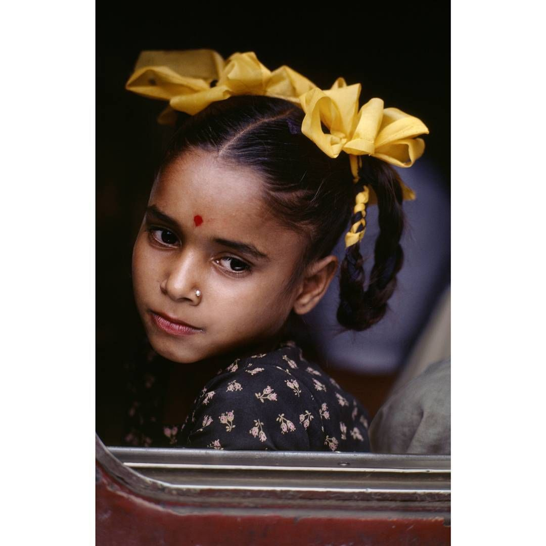 This young girl was waiting for the train to leave from Chittagong, Bangladesh.