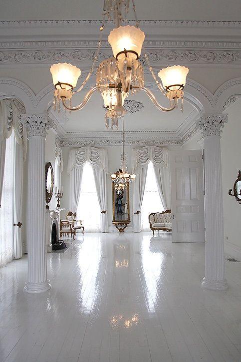 interiores en blanco