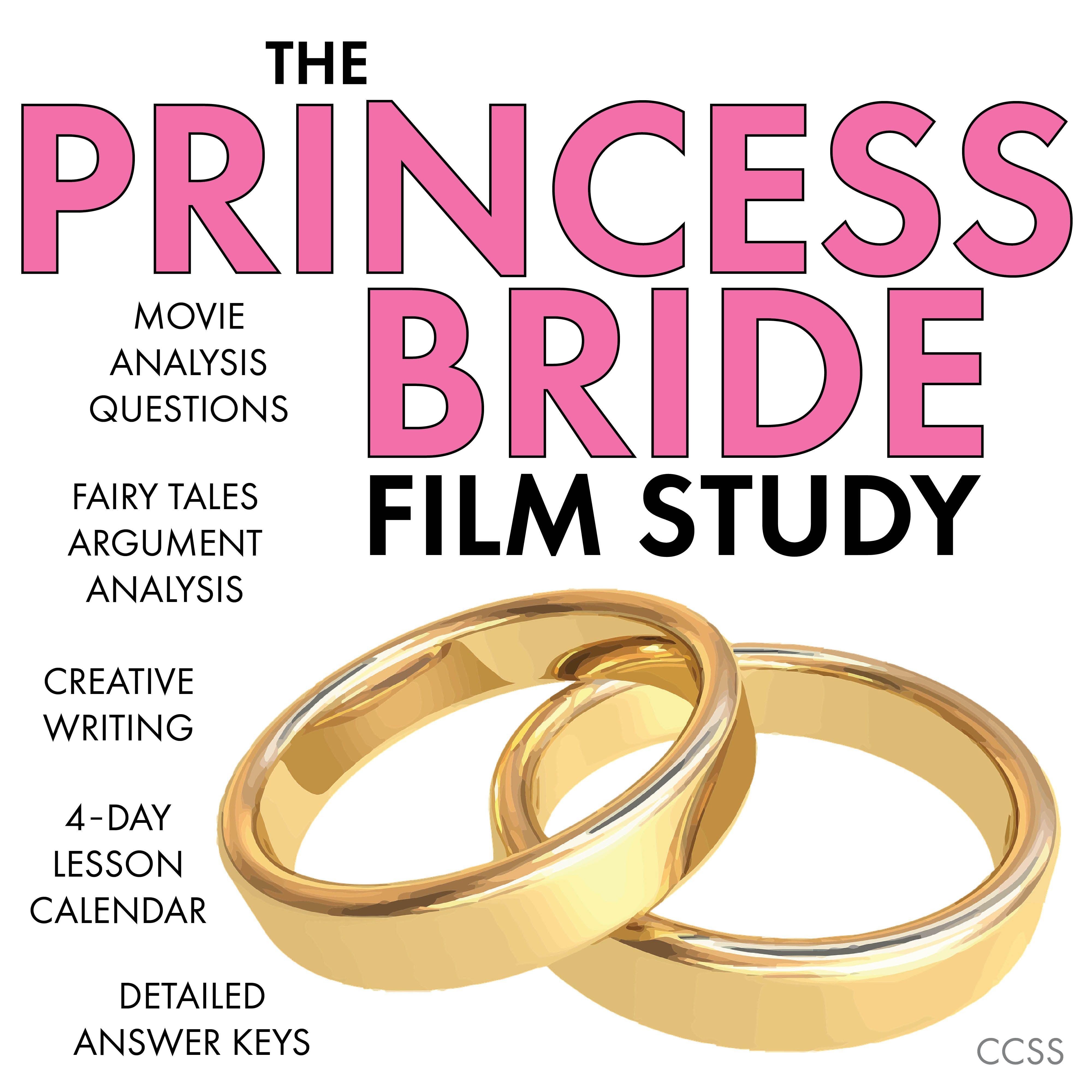Princess Bride Film Study Add Rigor To Movie Viewing