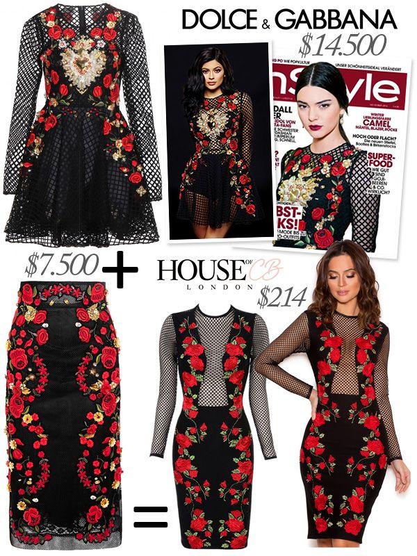 5697de68681402 Copycat Math - Dolce   Gabbana Sacred Heart Floral Embroidered Net Dress +  Dolce   Gabbana