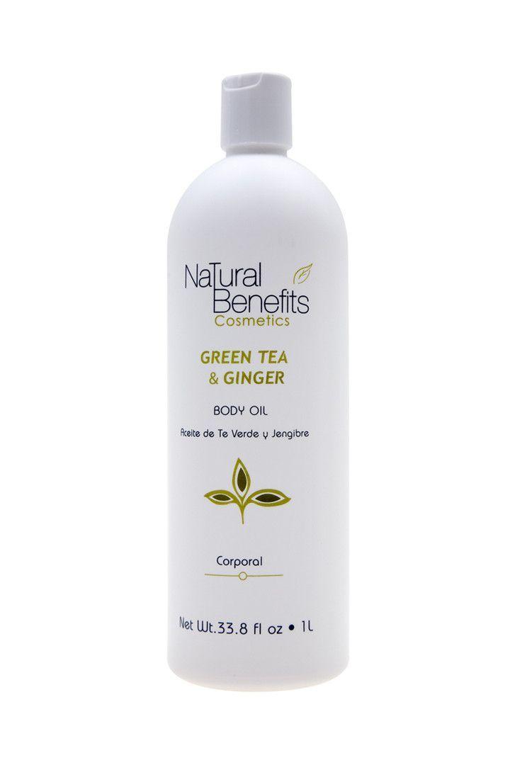 Green Tea & Ginger Body Oil