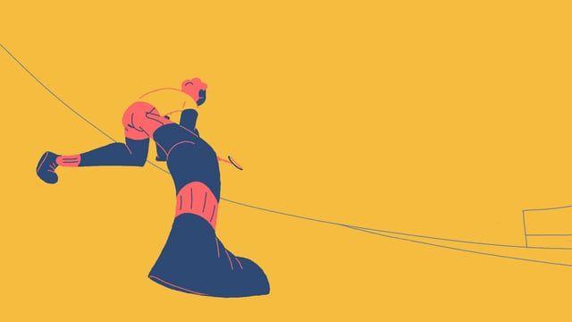 Badminton Motion Graphics Inspiration 2d Animation Animation