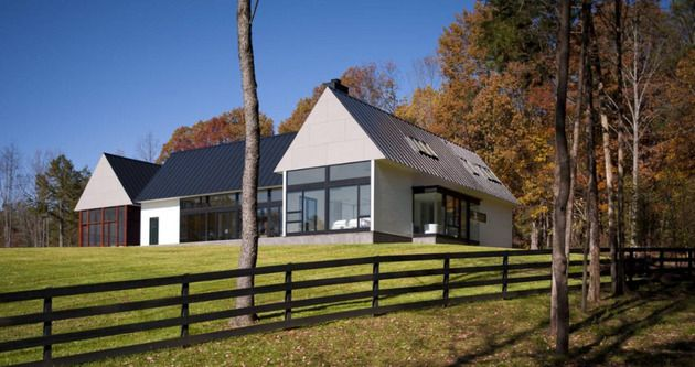 Contemporary take on the warm country home | Concrete, House and ...