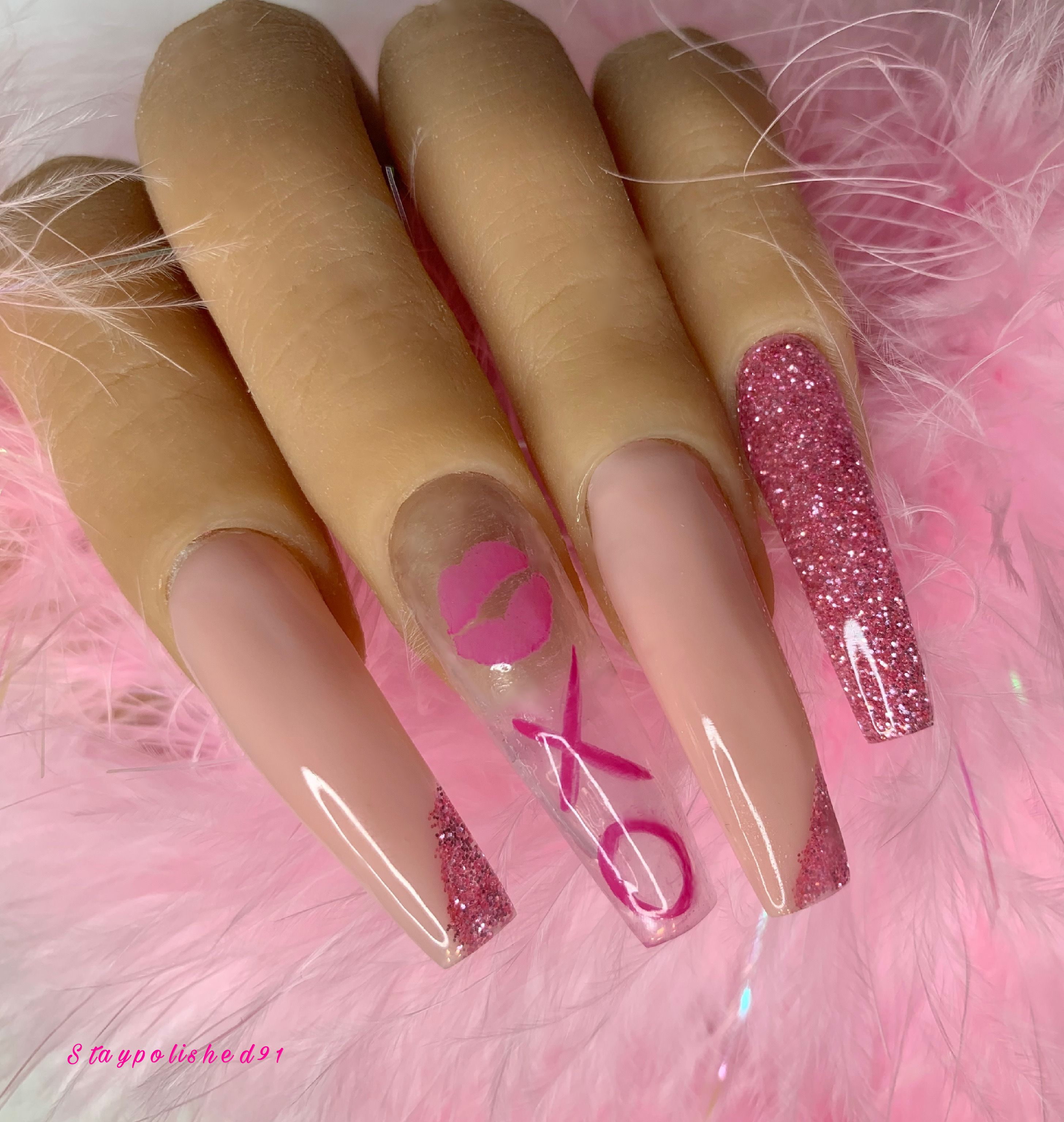 Staypolished91 Instagram In 2020 Polygel Nails Nails Best Acrylic Nails