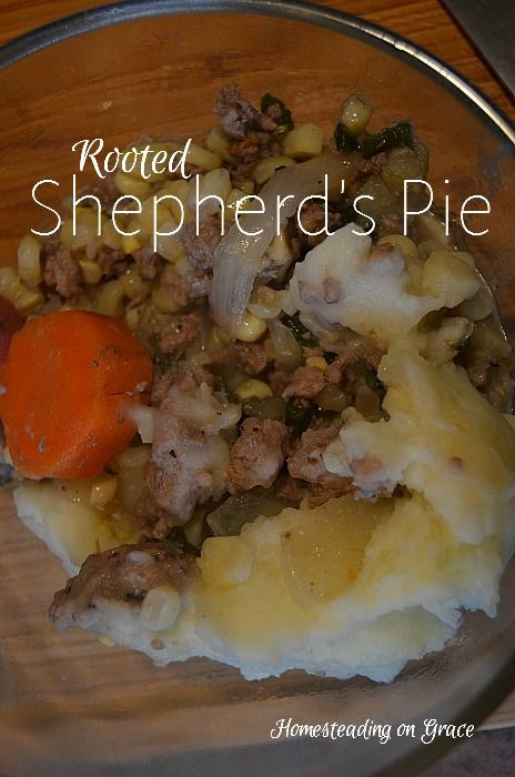 Rooted Shepherd's Pie: