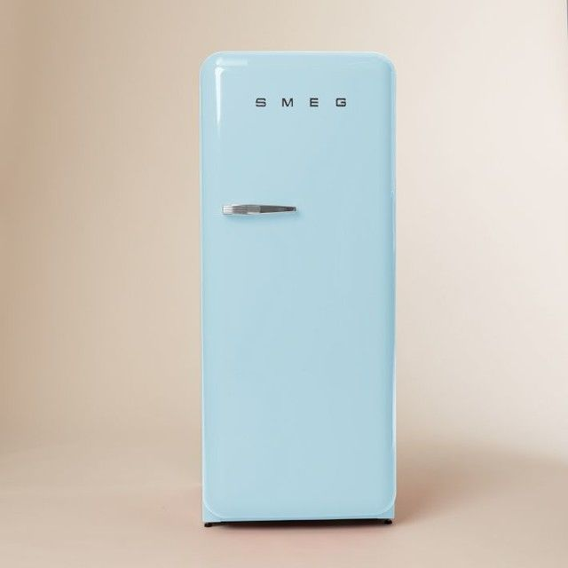 Powder blue smeg fridge always friday and monday for Smeg fridge
