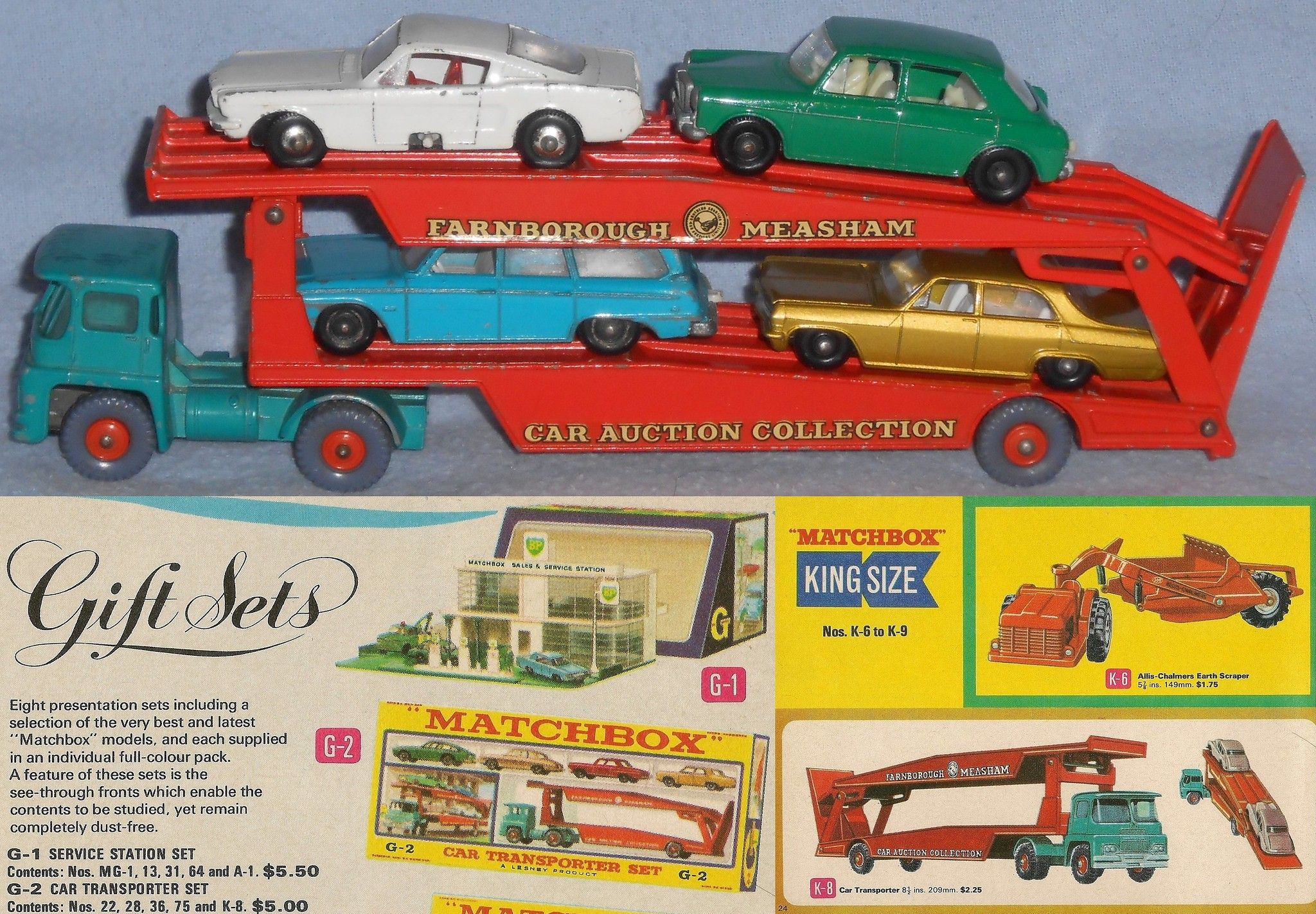 Matchbox King Size Car Transporter Matchbox Car Matchbox Cars