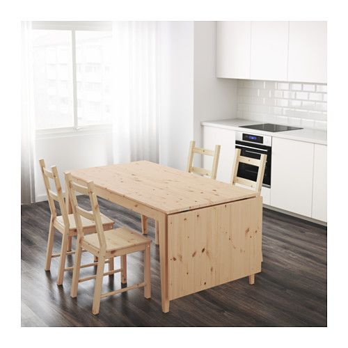 NORNÄS Drop Leaf Table   IKEA Would Customize With A Grey Stain