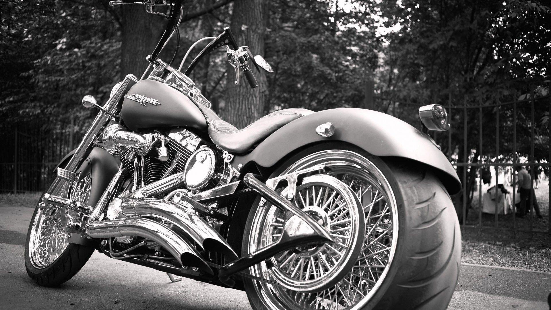 Harley Davidson Hd Wallpaper Free Download Motos