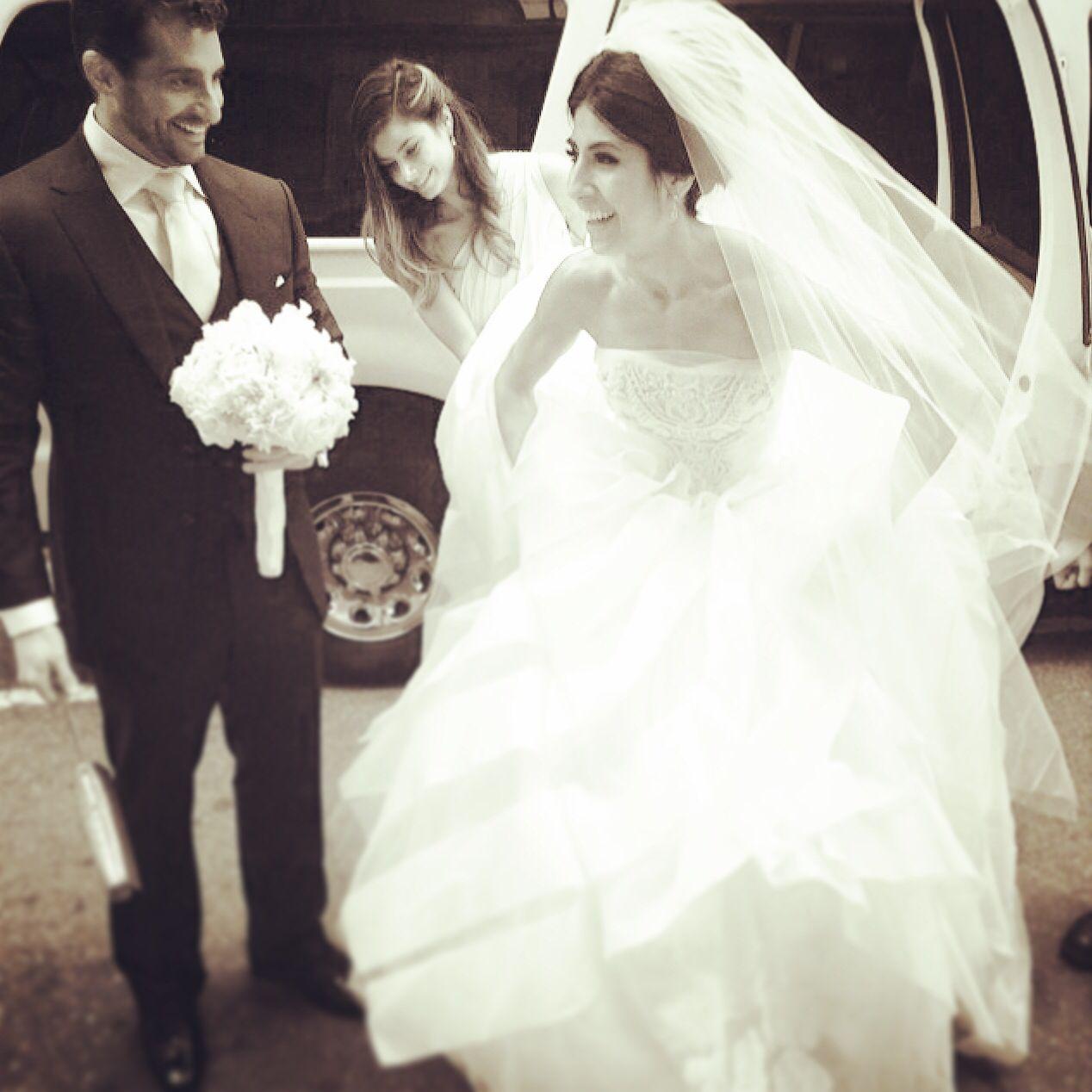 Classic wedding photo vera wang ball gown bridal elegant dress