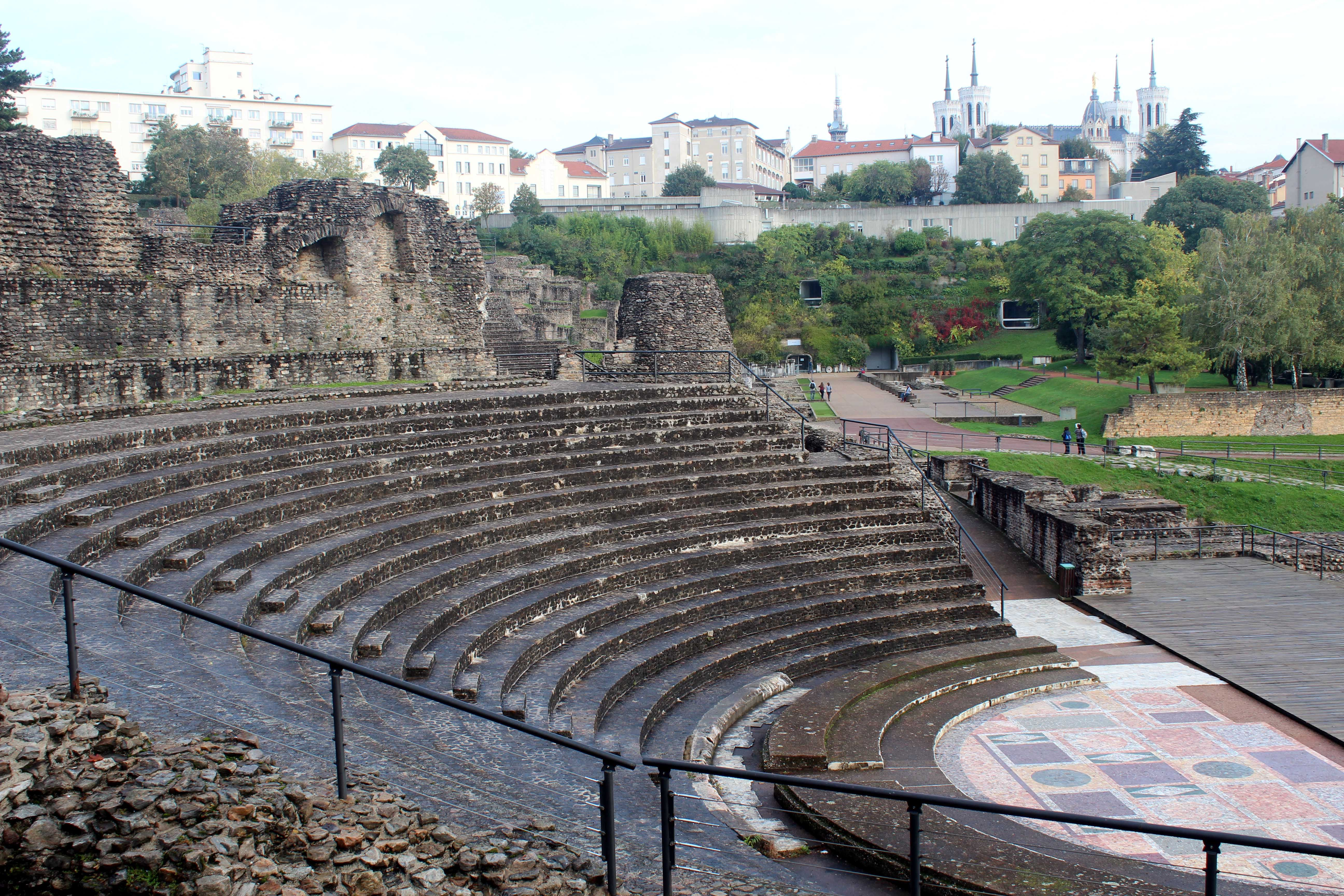 Gallo-Roman Theater, Lyon
