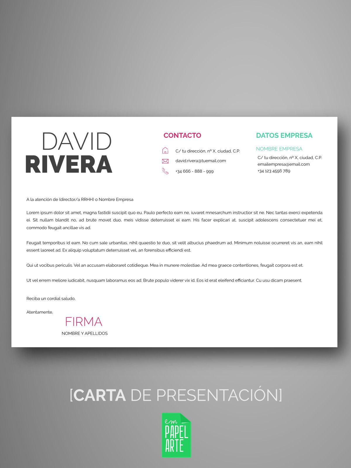 Plantillas currículum creativo   Empapelarte   CV   Pinterest ...
