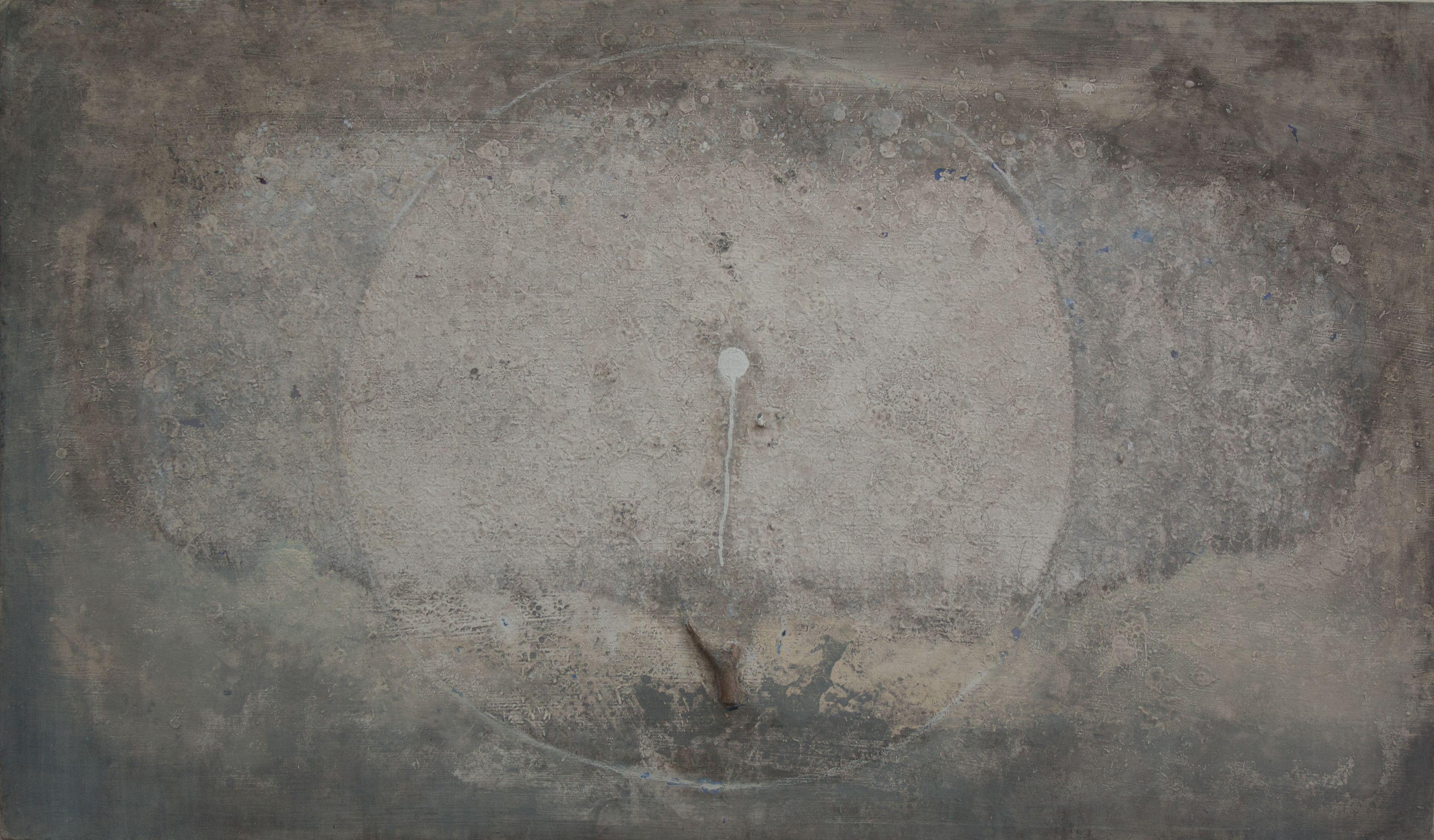 Mixed technique on canvas. 86 x 145 cm. 2012