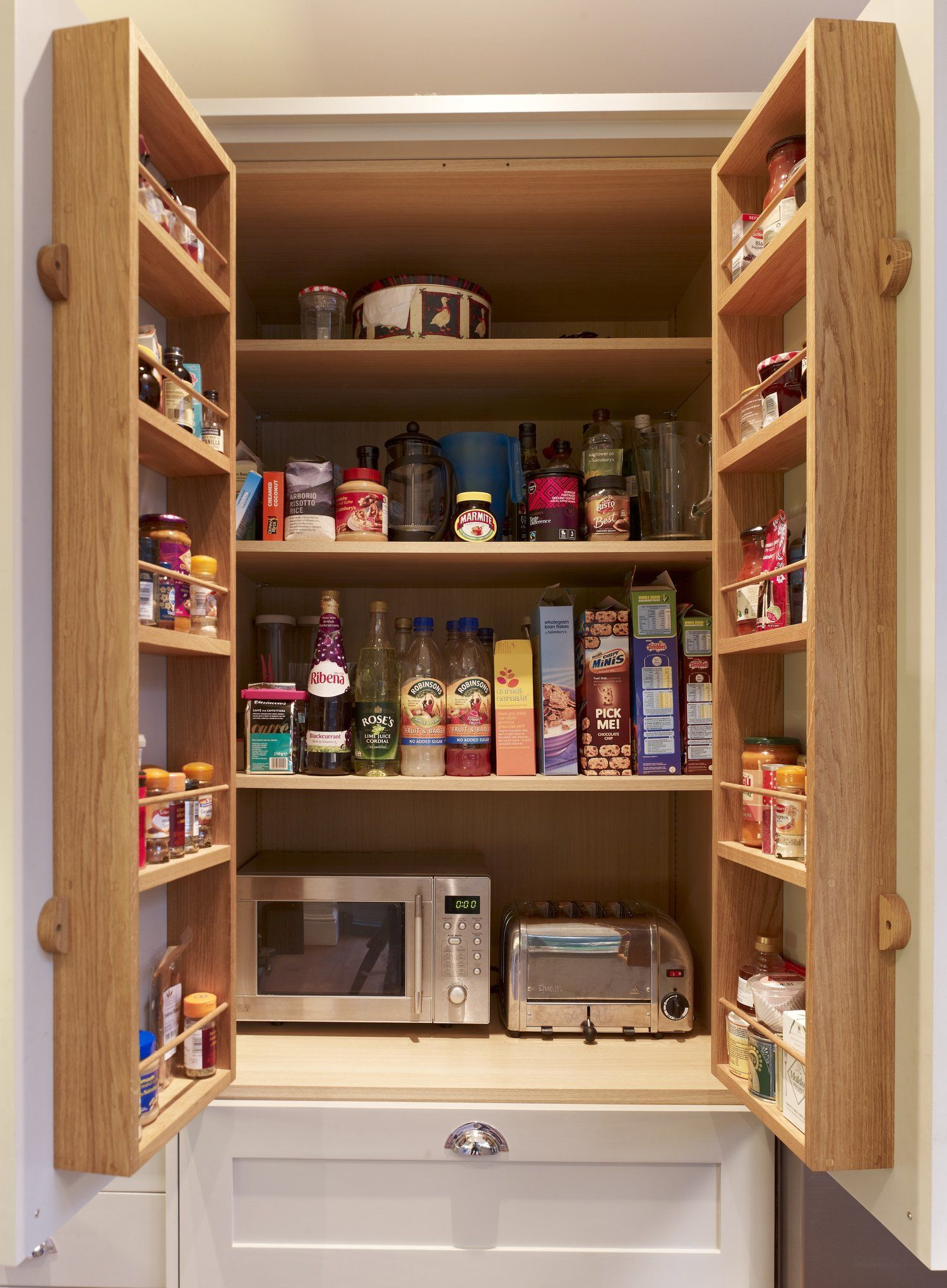 Pantry Cupboard Layout With Small Appliances Pantry Layout Pantry Cupboard Corner Kitchen Pantry
