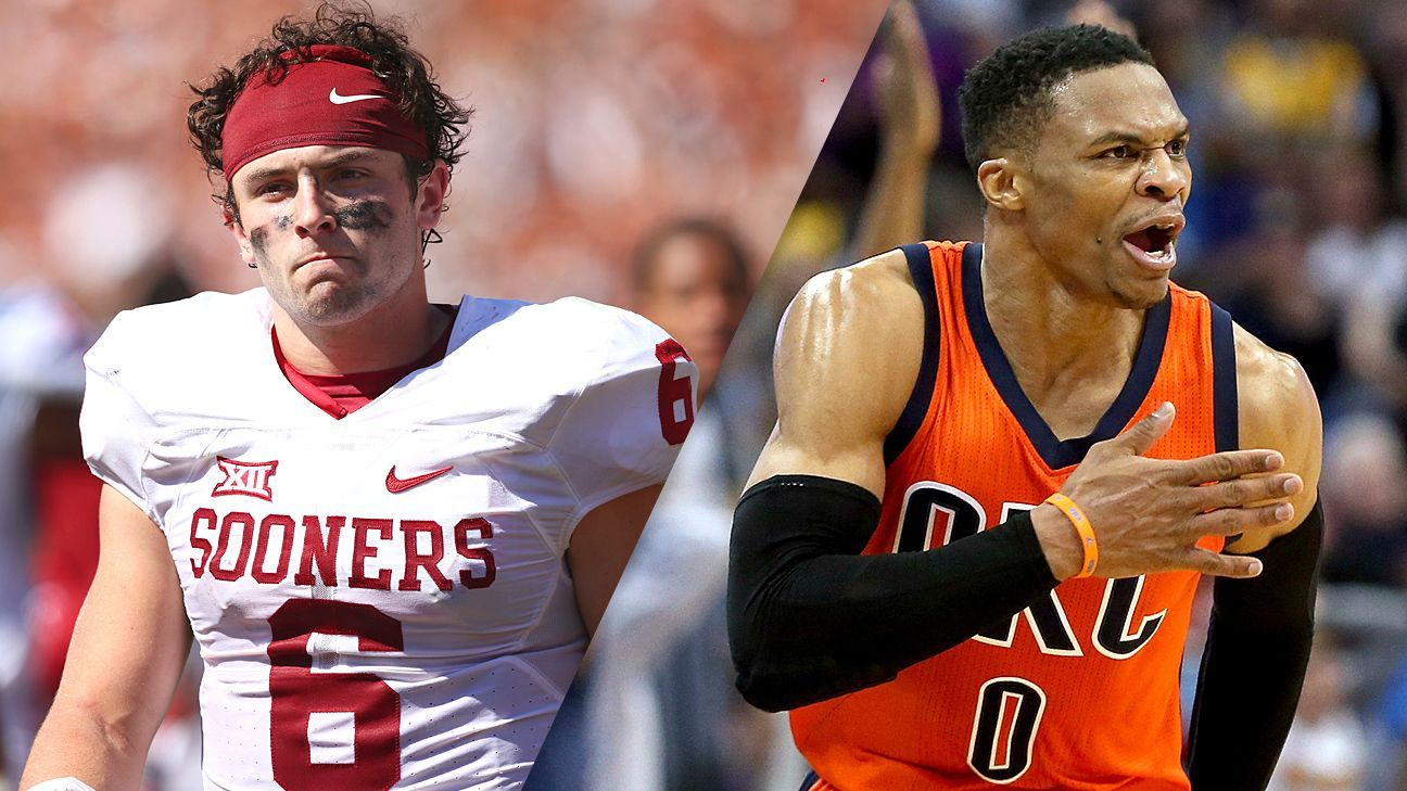 Baker Mayfield's new inspiration Russell Westbrook