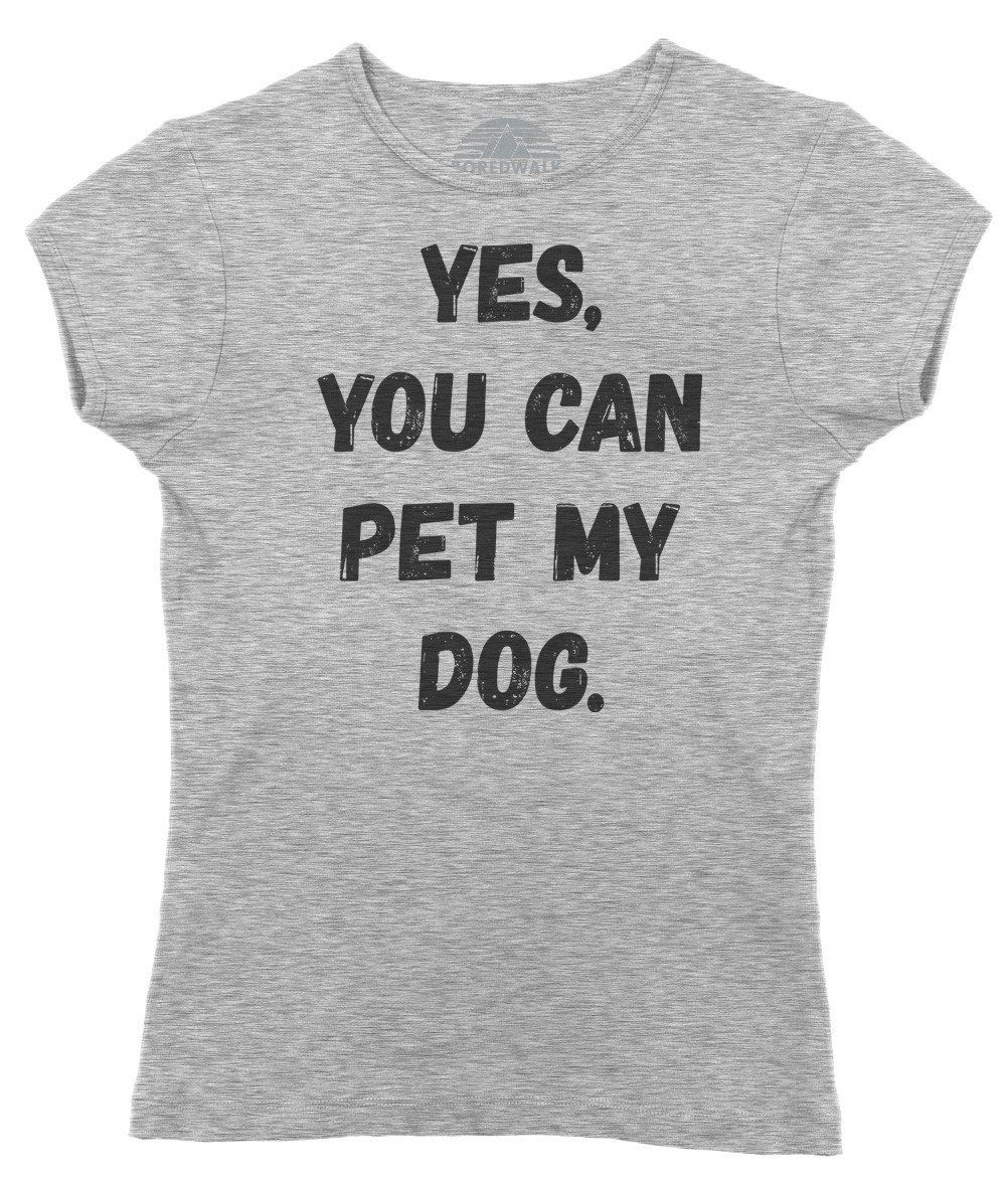 27e9fbbecd If you're a proud dog dad or dog mom, you know every passerby wants to pet  your pup. Let fellow dog lovers know your dog loves a good petting with  this ...