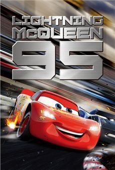DISNEY CARS LIGHTNING MCQUEEN ANIMATION POSTER PICTURE PRINT Sizes A5 to A0 *NEW