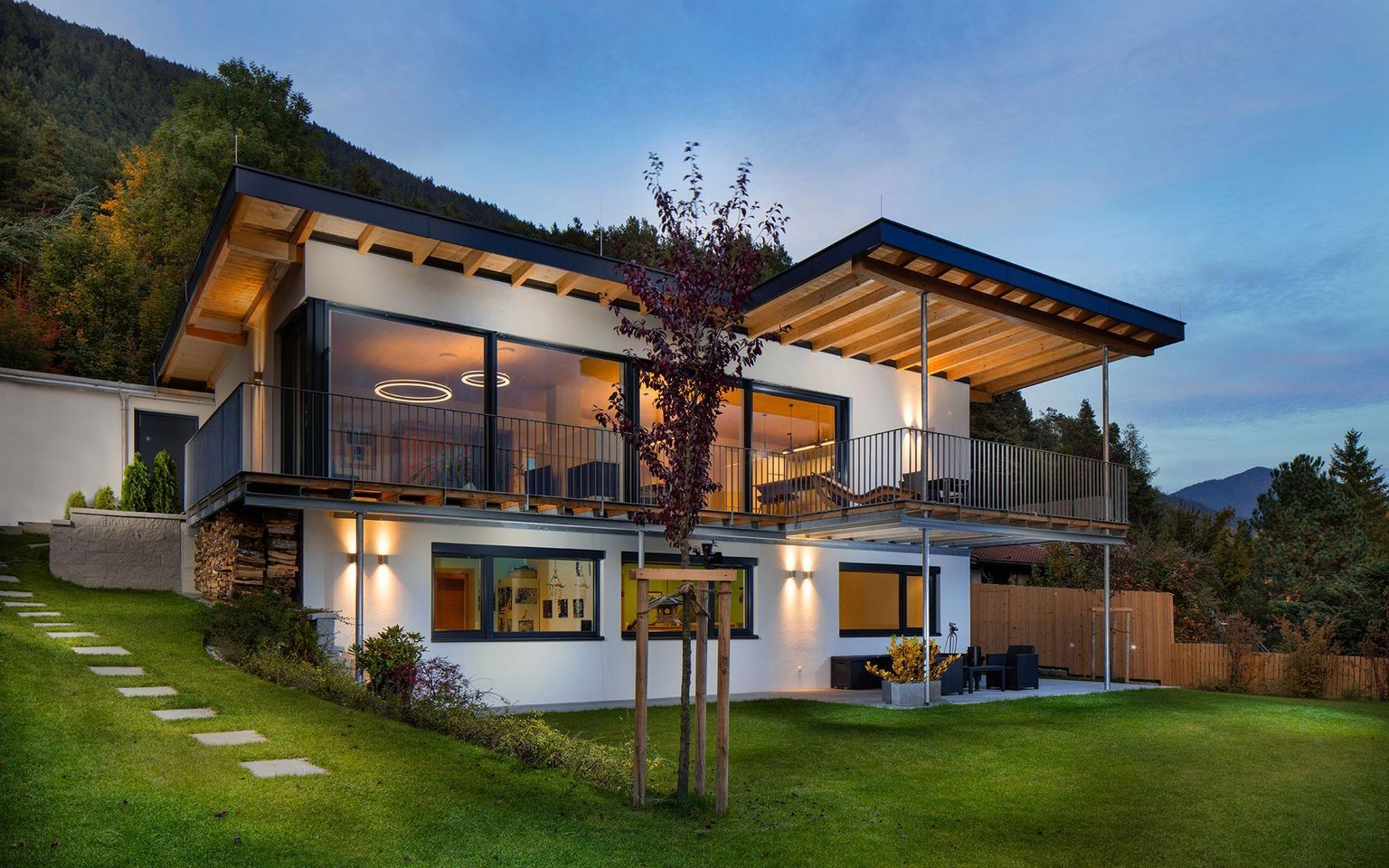 Photo of Holzbau Aktiv – Holzhaus Wutscher – Reith b. Seefeld