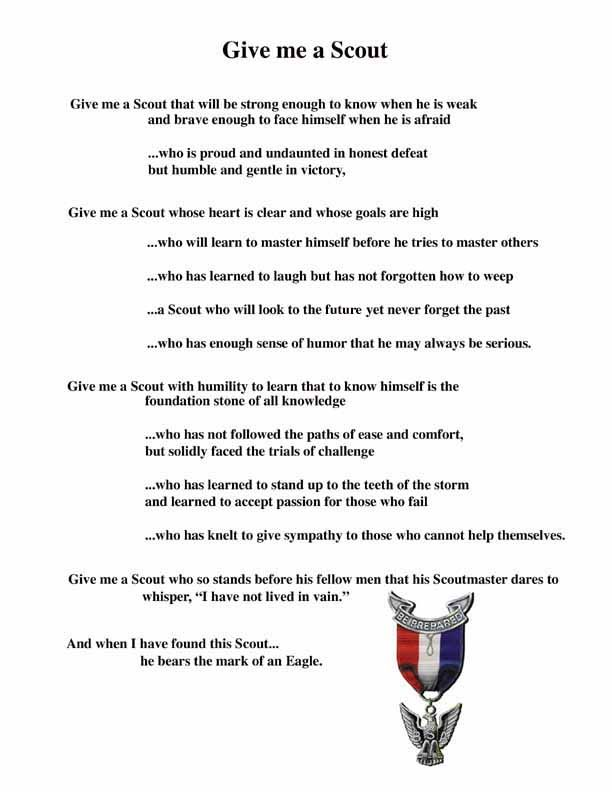 Nice description of what it means to be an Eagle Scout Eagle - eagle scout recommendation letter sample