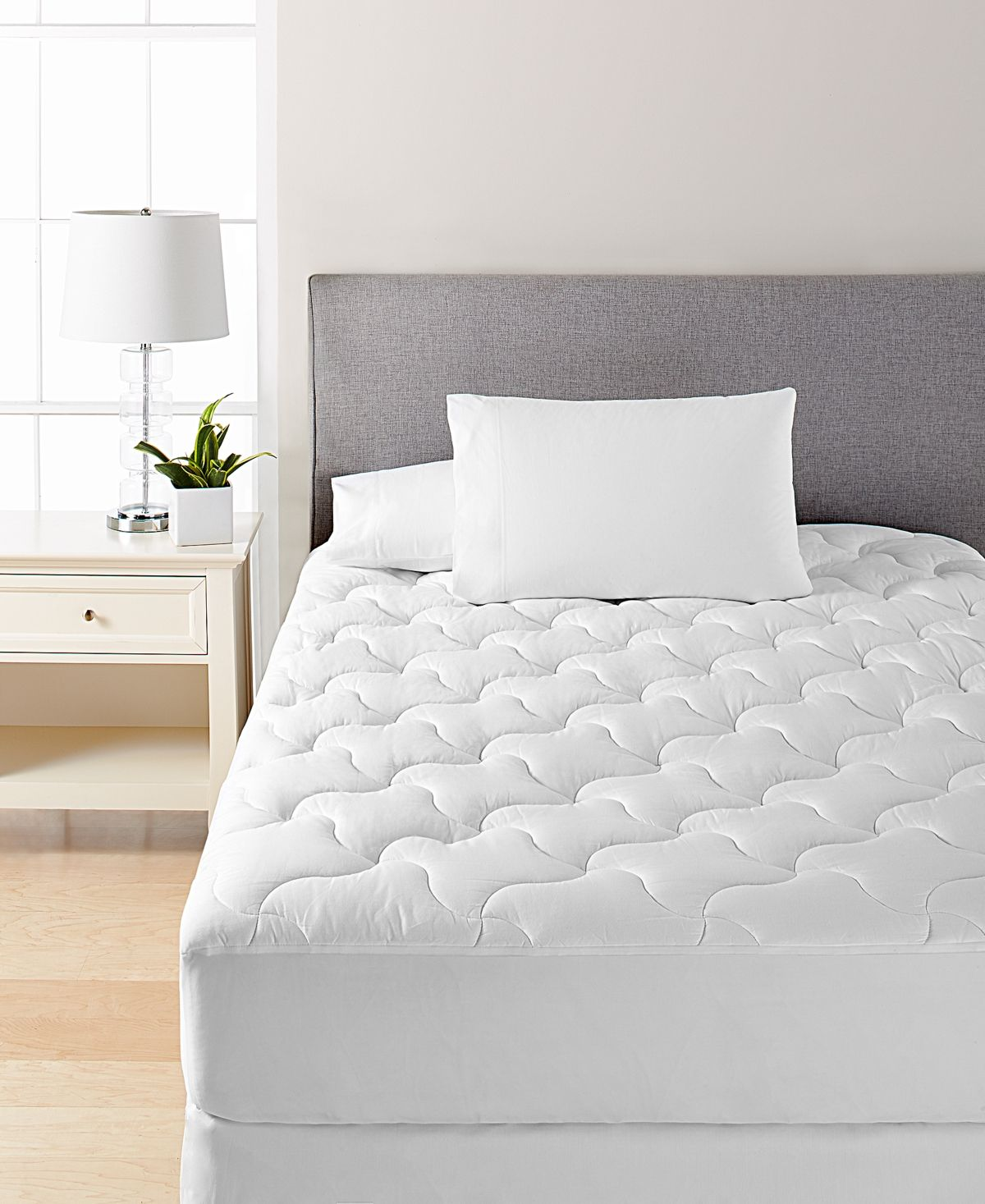 Martha Stewart Collection Dream Science Quilted Twin Mattress Pad