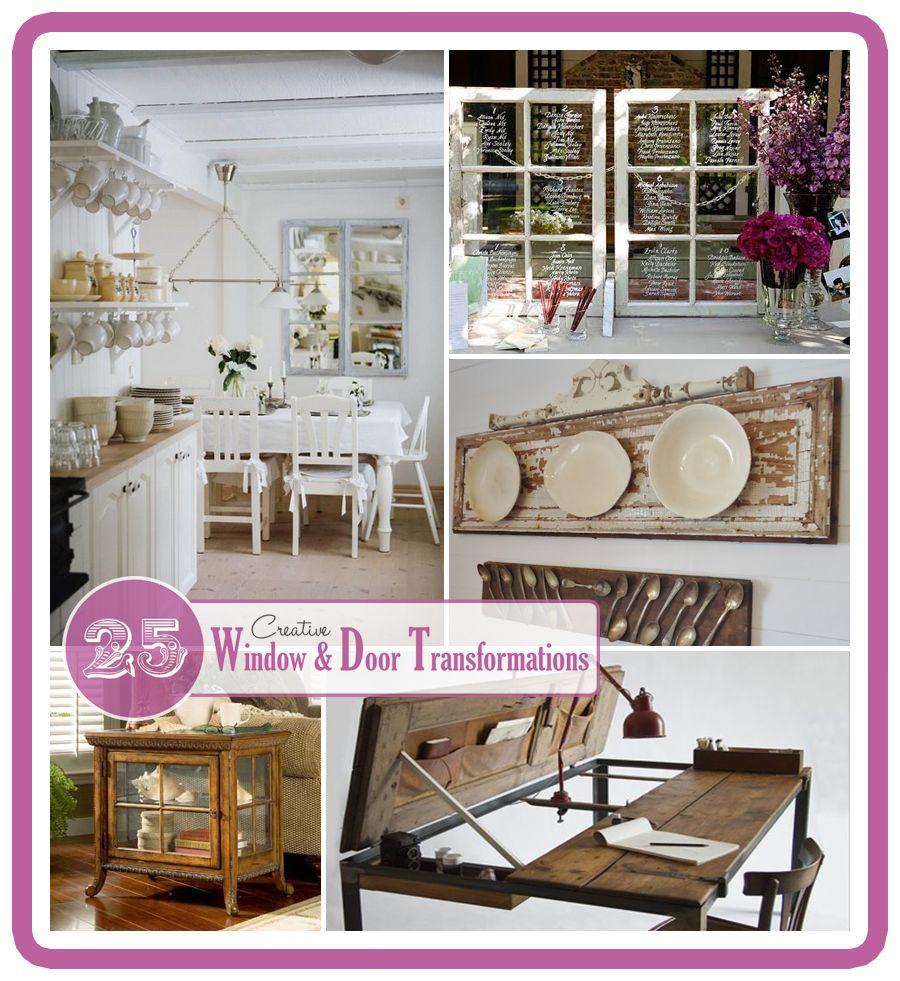 25 creative window and door transformations pinterest for Decoracion de interiores medellin