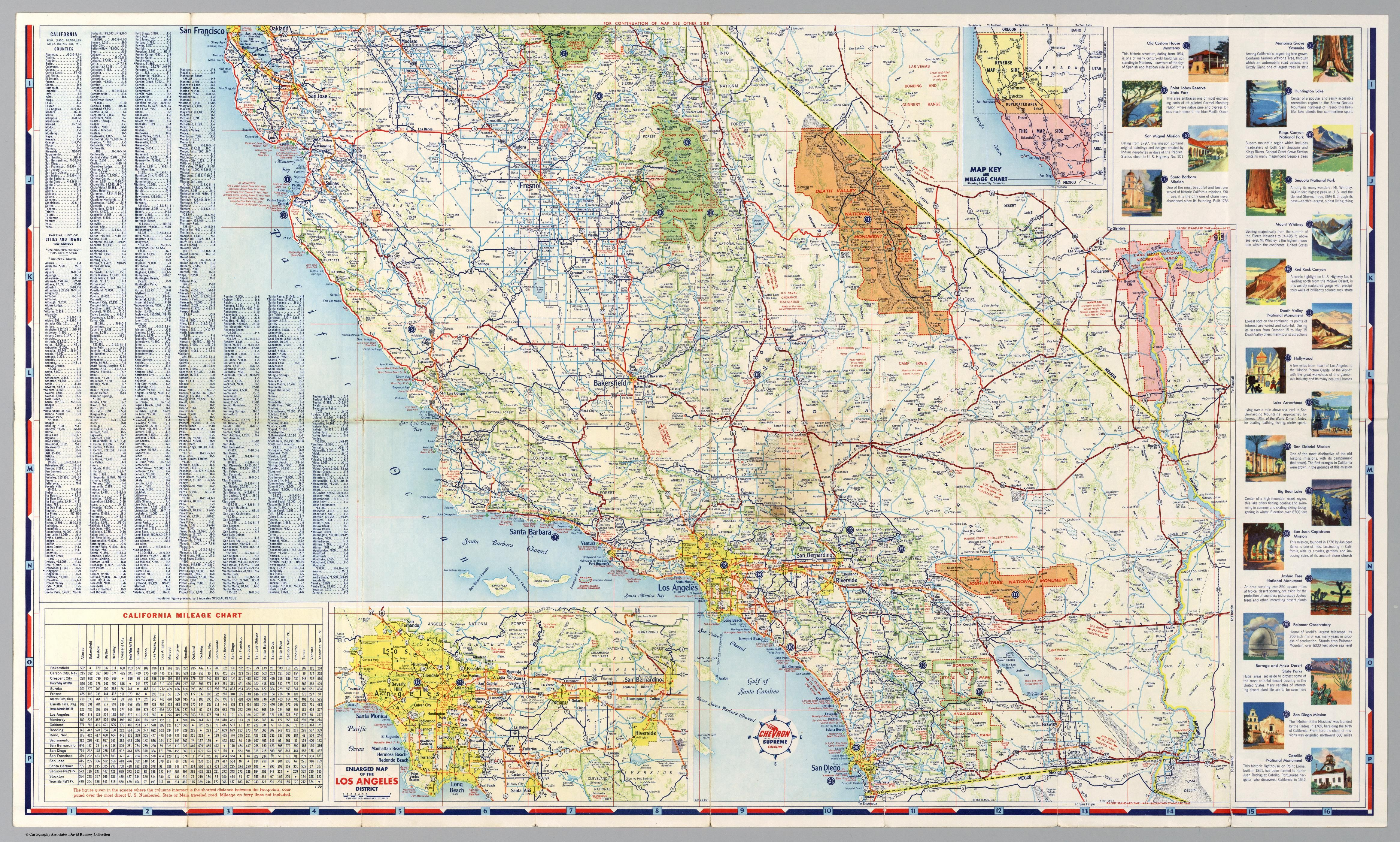 california road map | (NAMELESS) (1) | Driving maps
