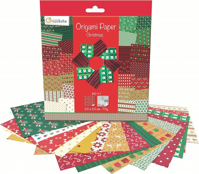 Avenue Mandarine 52508O - #Origami #Papier #Weihnachten, 20 x 20 cm ...
