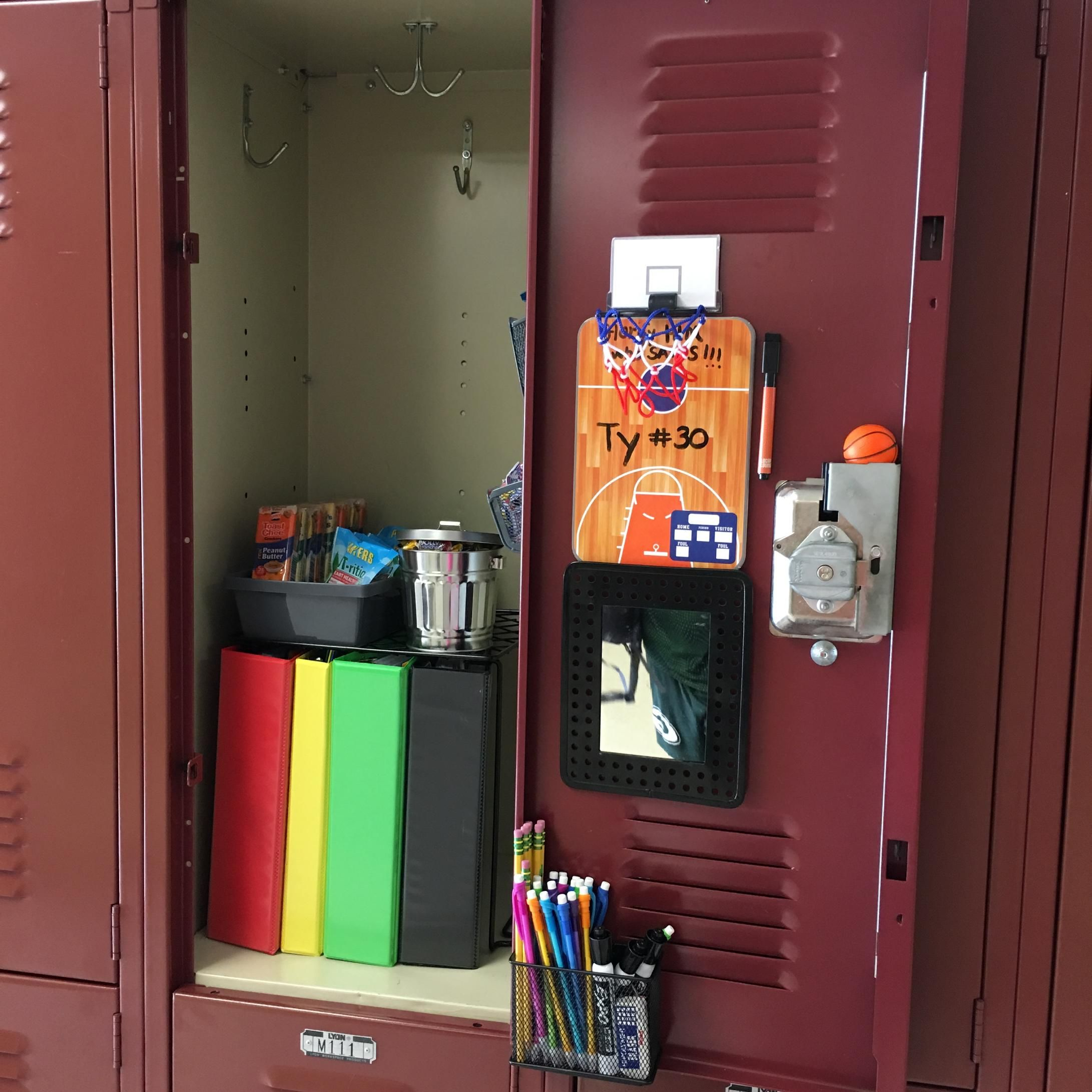 Middle School Ready Boys Locker Ideas Sixth Grade