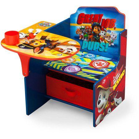 Nick Jr Paw Patrol Chair Desk With Storage Bin By Delta