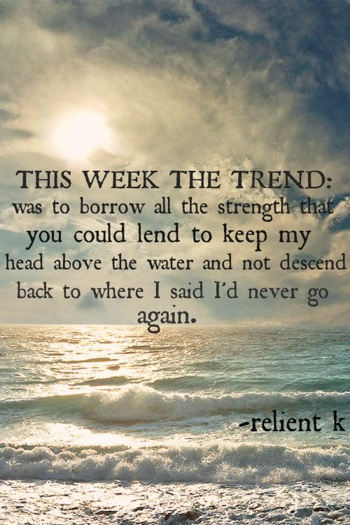 Relient K This Week The Trend Lyrics To Live By Favorite
