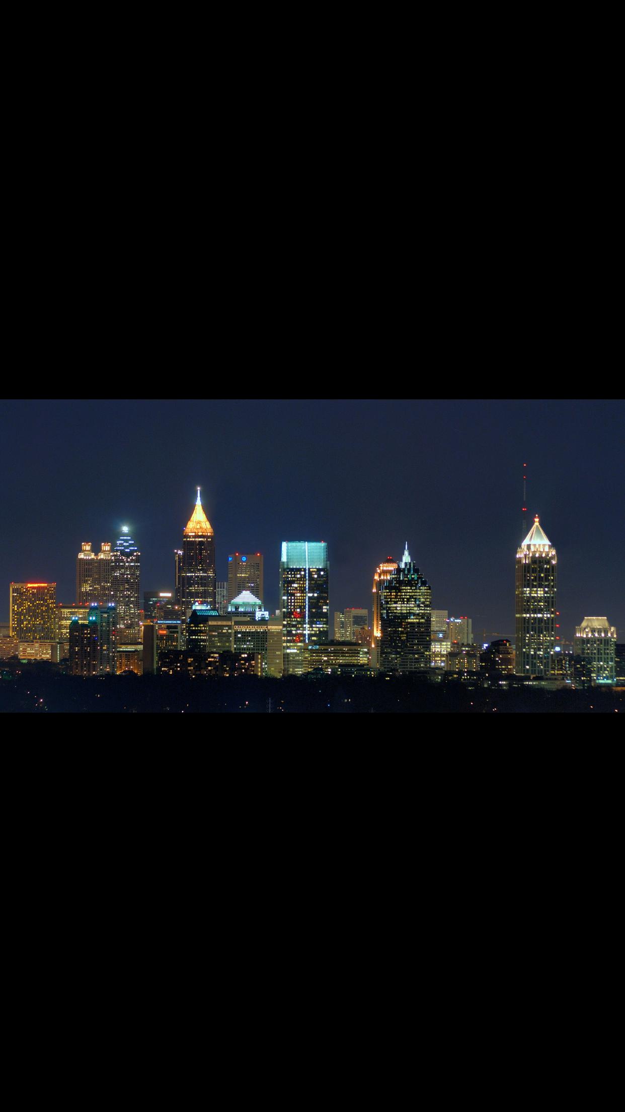 Atlanta Atlanta skyline, Atlanta neighborhoods, Skyline