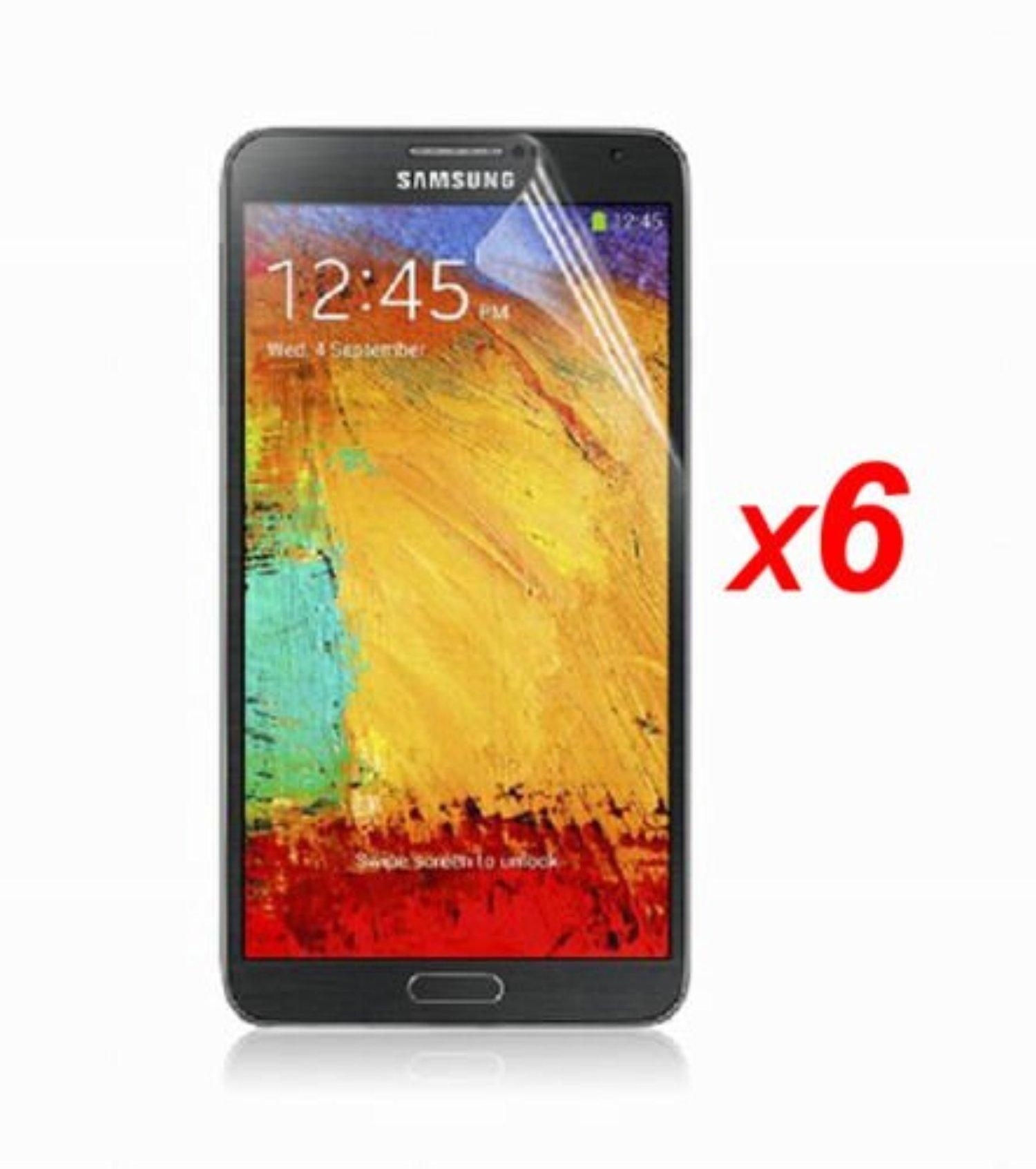 6 X Ultra Clear Screen Protector Guard Film For Samsung