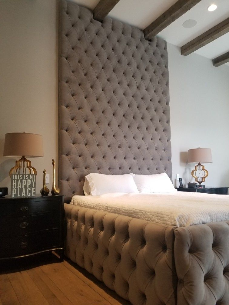 Pin On Fully Tufted Bed Frames