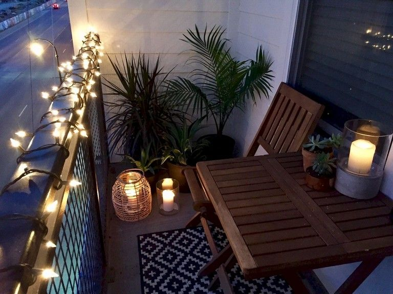 75 Comfy Small Apartment Balcony Decor Ideas On A Budget Apartment Patio Decor Small Balcony Decor Small Apartment Patio