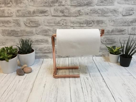 Kitchen Paper Towel Holder, Copper Kitchen Accessories, Copper Towel Holder, Paper Towel Dispenser, #copperkitchenaccessories Kitchen Paper Towel Holder, Copper Kitchen Accessories, Copper Towel Holder, Paper Towel Dispenser, #papertowelholders